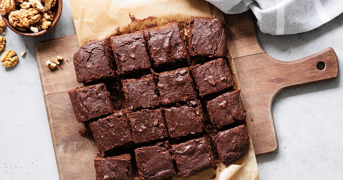 Buttermilk Chocolate Brownies