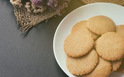 Megan's Condensed Milk Biscuits